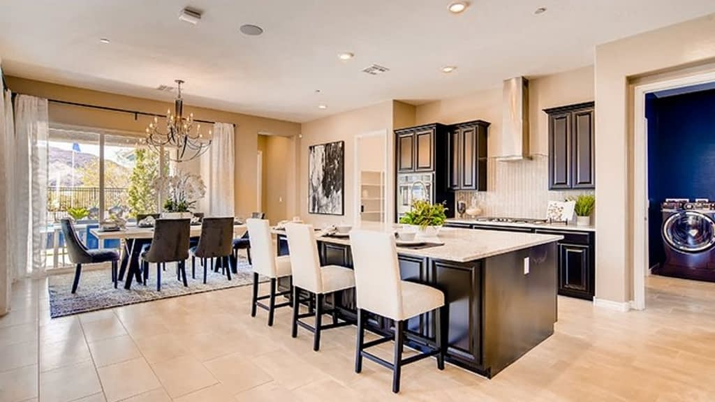 Lennar homes built the Westcott neighborhood which is inside the Stonebridge Village in Summerlin, Las Vegas.