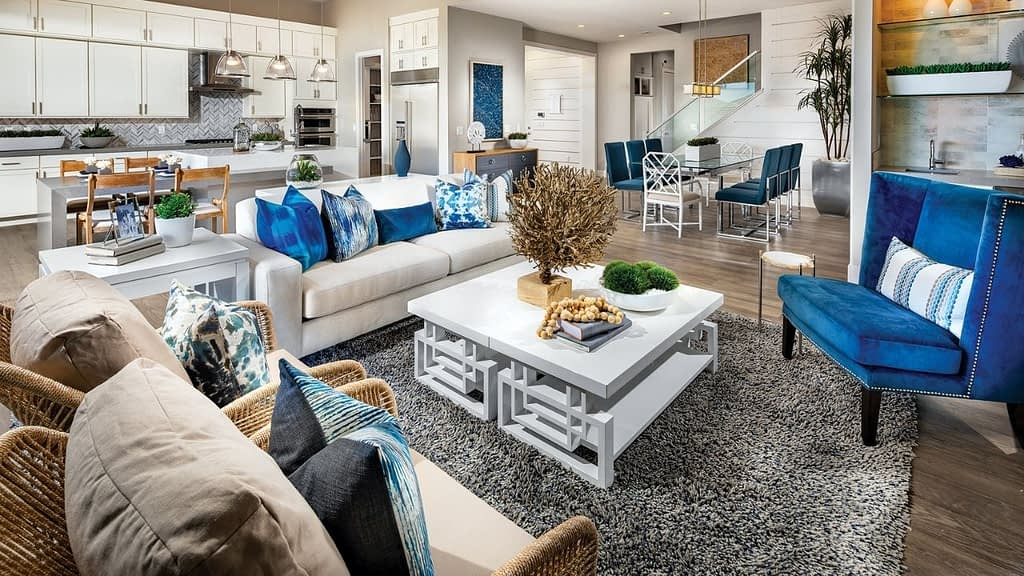 Shadow Point is a Toll Brothers neighborhood in the Stonebridge community of Summerlin, Las Vegas. Homes here range in size from 2,285 square feet to 2,879 square feet.