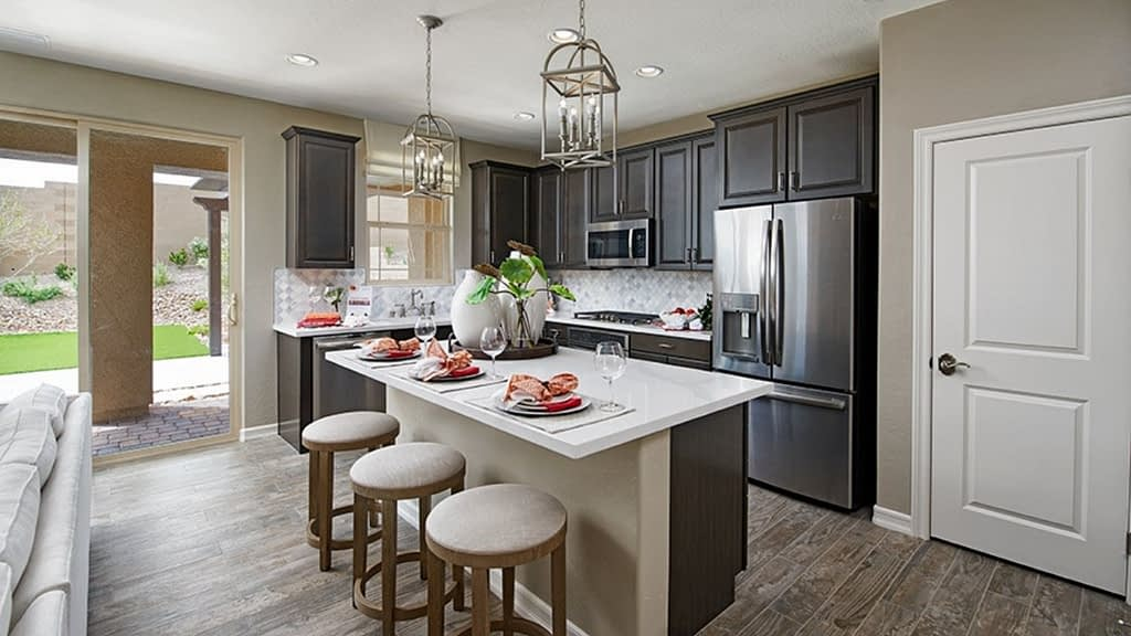 Skye Knoll is a Richmond American Homes community built inside the Stonebridge Village of Summerlin, Las Vegas.
